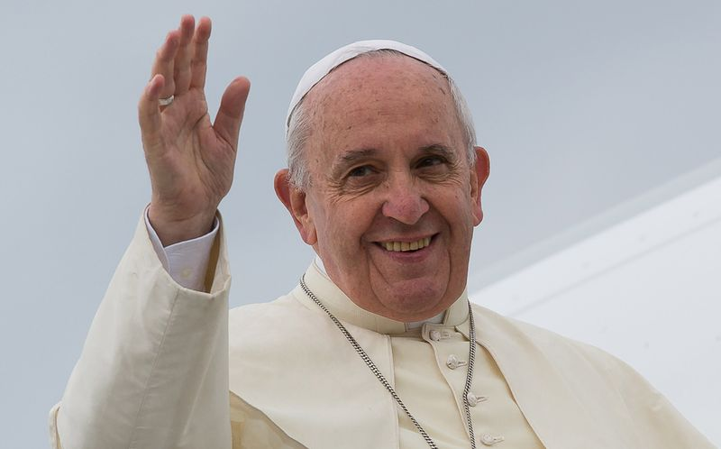 The 10th of May pope Francis will go to Loppiano
