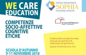 We Care Education 2018
