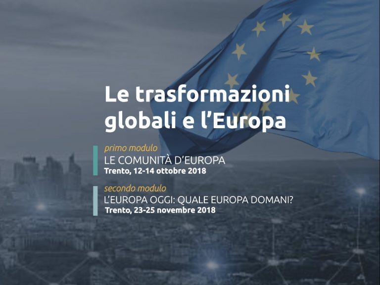 L'Europa tra presente e futuro
