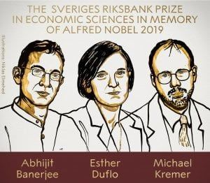 premi nobel 2019