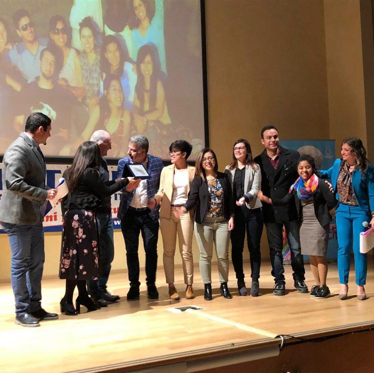 """Sophia riceve il Premio """"Chiara Lubich: Manfredonia città per la fratellanza universale"""""""