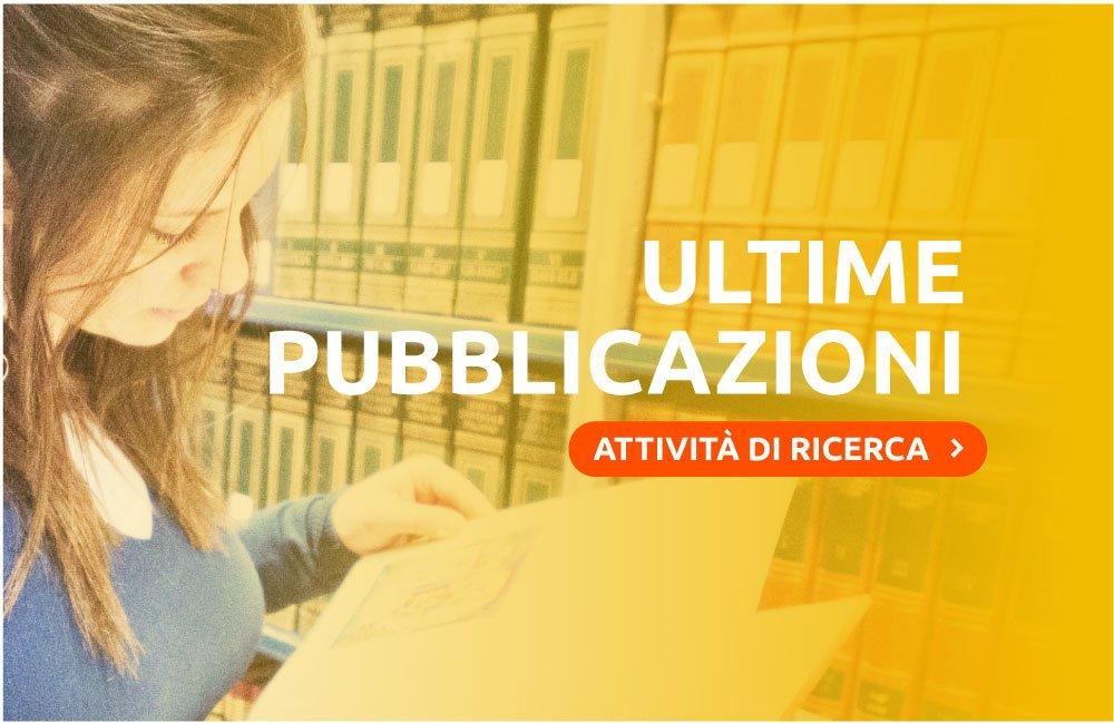 Ultime Pubblicazioni Sophia University